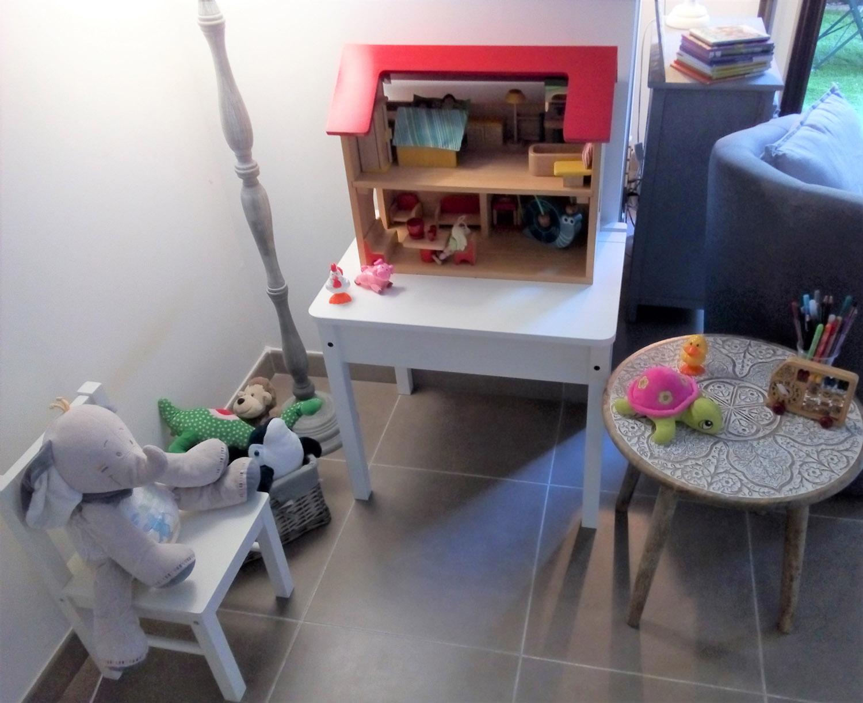 Cabinet de psychologie à Aix-en-Provence, espace de consultation pour les enfants.